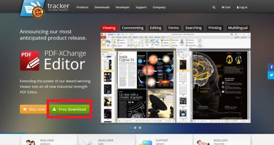 PDF X-Change Editor