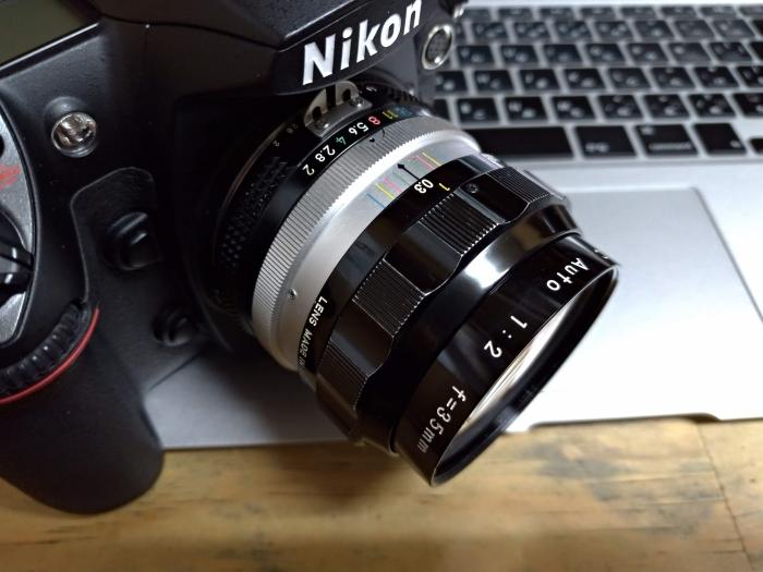 Nikkor O.C Auto 35mm F2