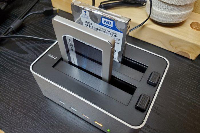 玄人志向 SSD/HDDスタンド 2.5型&3.5型対応