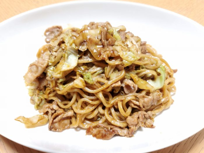 Photoshop Express 焼きそば 加工前