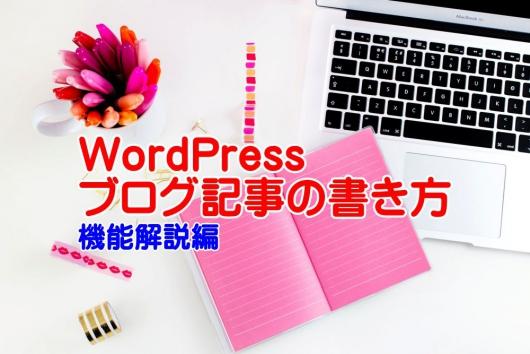 WordPress ブログ記事の書き方